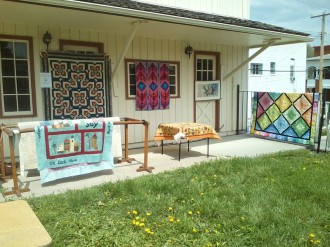 Quilts at Living History Day